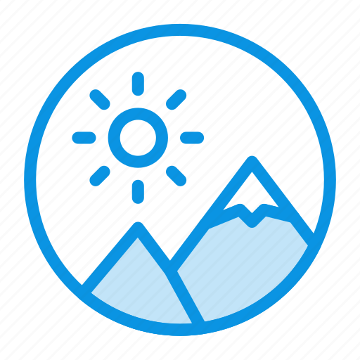 Image, nature, round icon - Download on Iconfinder