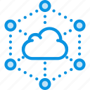 cloud, internet, network icon