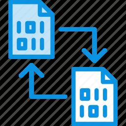backup, change, copy, data, document, file, sync, transfer icon
