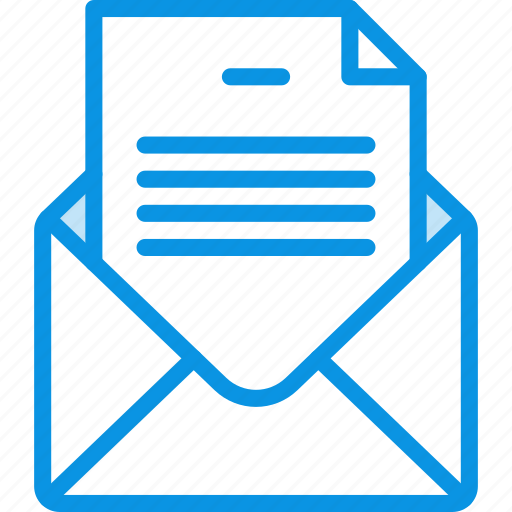 email, envelope, file, letter, mail, message, text icon