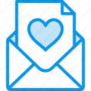 love, envelope, letter