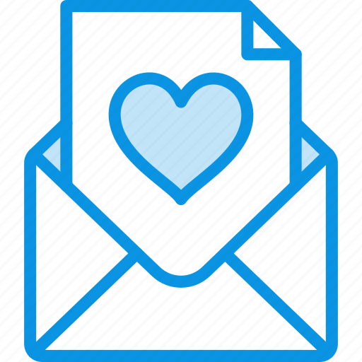 envelope, letter, love icon