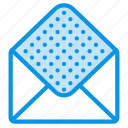 envelope, mail, open icon