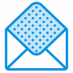 email, empty, envelope, mail, open icon