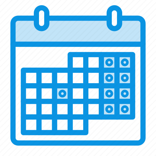 calendar, date, event, holidays, management, month, schedule, weekends icon
