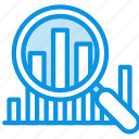 analytics, analyze, chart, data, graphic, inspect, statistics, stats icon