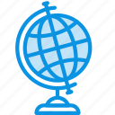academy, earth, education, geography, globe, knowledge, learn, study icon
