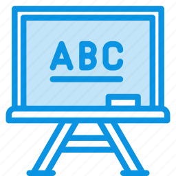 chalkboard, education, knowledge, learn, lesson, school, study, teach icon