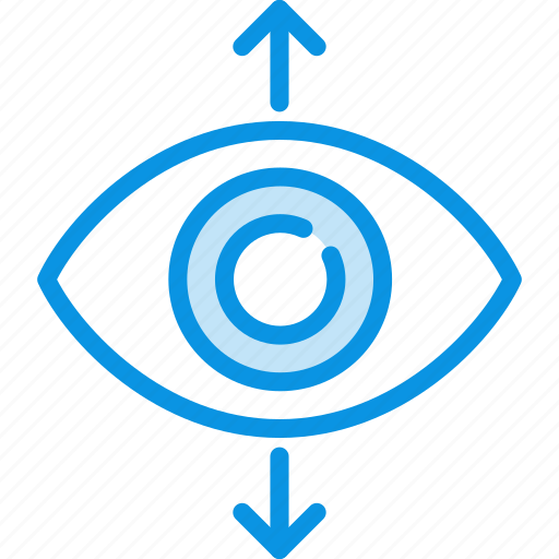 eye, find, focus, increase, perspective, sight, view icon