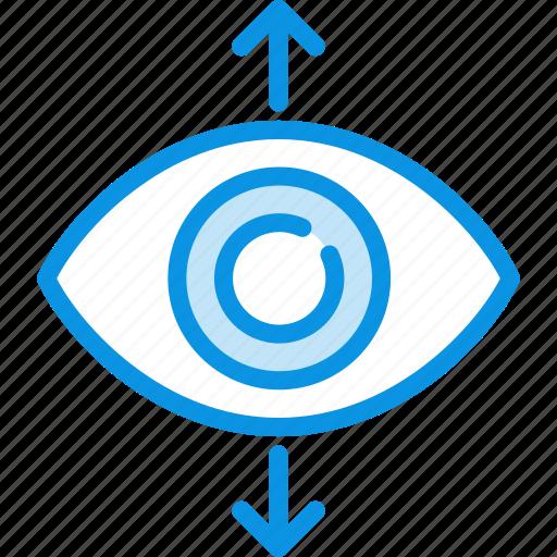 eye, focus, view icon