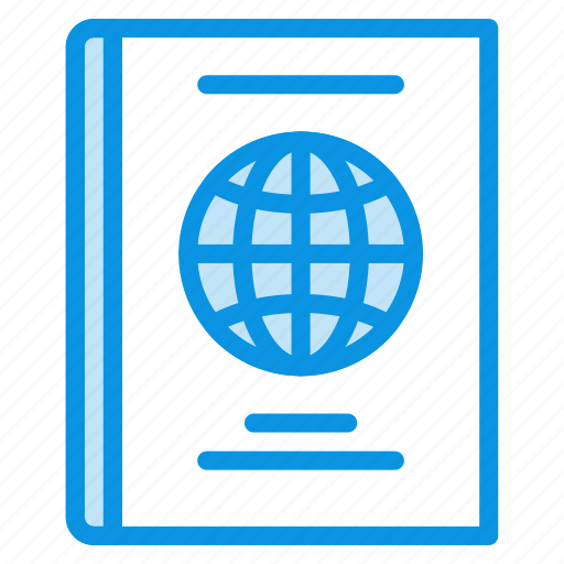 citizen, document, id, identity, international, pass, passport, travel icon