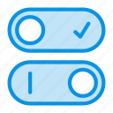 control, switch, toggle icon