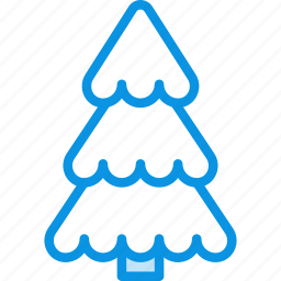 christmas, ecology, forest, nature, park, spruce, tree icon