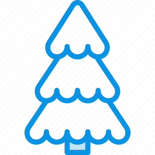 spruce, tree, xmas icon