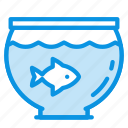 aquarium, fish, pet icon