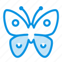 animal, butterfly, easiness, insect, serenity icon