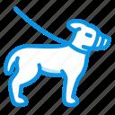 dog, muzzle icon