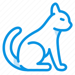 animal, cat, kitty, pussycat, tomcat icon