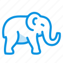 animal, bishop, elephant, mammal icon