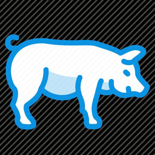 animal, chunya, farmer, fat, fatty, pig icon