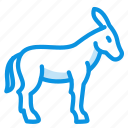 burro, donkey icon