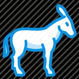 burro, donkey icon