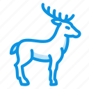elk, deer, horns icon