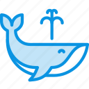 animal, mammal, ocean, orca, sea, water, whale icon
