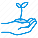 eco, growth, plant icon