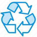 logo, recycle, sign