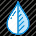 drop, eco, organic icon