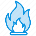 flame, flammable, package icon