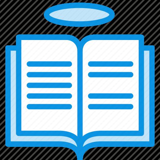 book, holy, religion icon