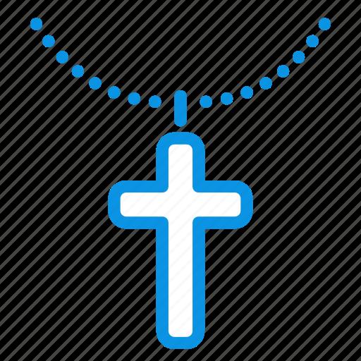 christian, cross, religion icon
