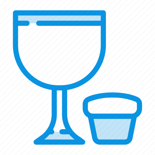 participle, prosphoron, wine icon