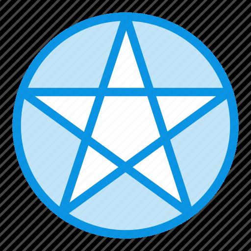 occultism, pentacle, pentagram icon