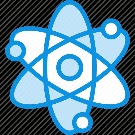 atom, energy, science icon