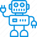 artificial, intelligence, robot icon