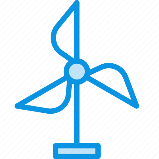 eco, generator, wind icon