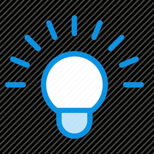 idea, lamp, wifi icon