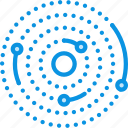orbit, planets, solar system icon