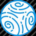 neptune, planet icon