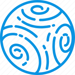 cosmos, neptune, planet, science, solar, space, system icon