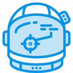 astronaut, cosmos, helmet, science, space, suit, target icon