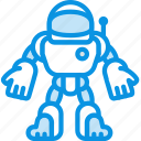 cosmonaut, robot, suit icon