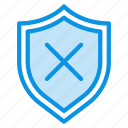 shield, security, warning