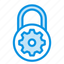control, lock, options icon