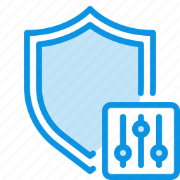 antivirus, options, protect, protection, security, settings, shield icon