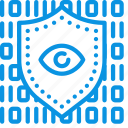 code, data, protection icon