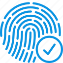 fingerprint, touch, biometric